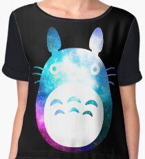 Galaxy Totoro! Chiffon Top