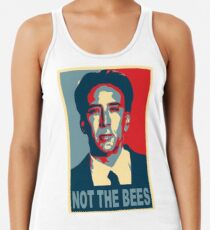5f6b8d6dc2d9a Nicolas Cage - Not the Bees Women s Tank Top