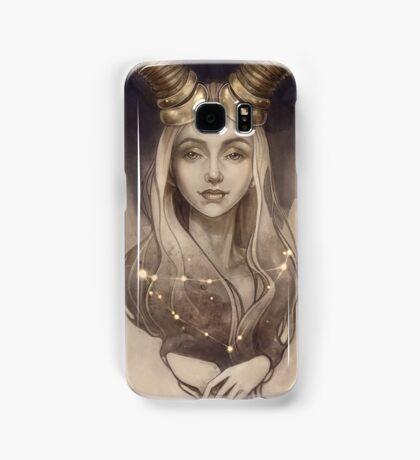 Zodiac Capricorn Samsung Galaxy Case/Skin