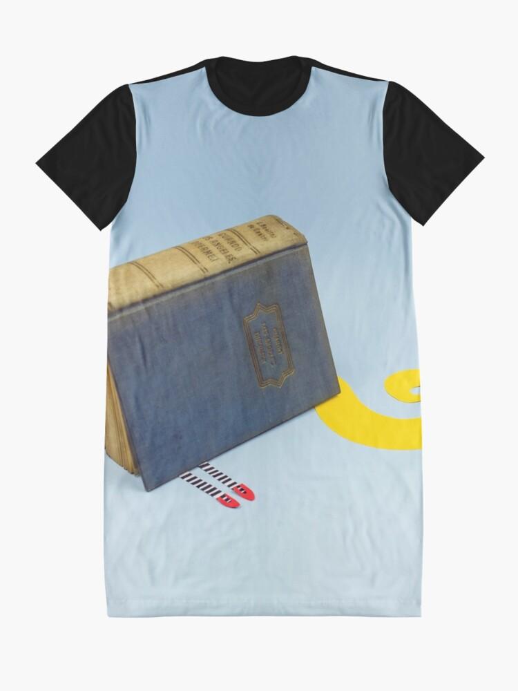 Alternative Ansicht von Das böse Buch von Oz T-Shirt Kleid