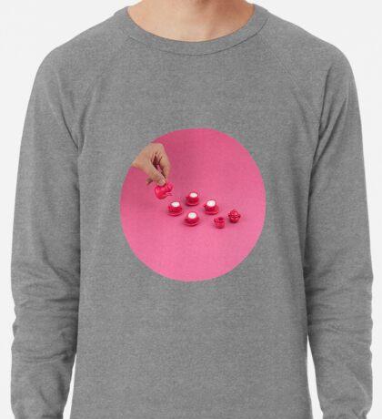 Kleine rosa Teeparty Leichter Pullover