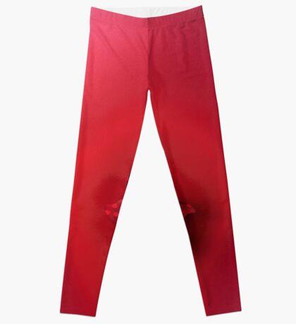 Rote Explosion Leggings