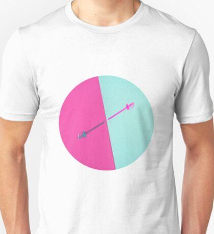Magenta vs Cyan T-Shirt