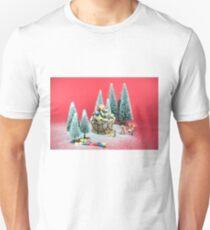 Christmas cupcake Unisex T-Shirt