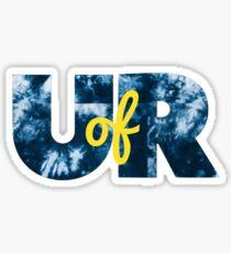 UofR- University of Rochester Sticker