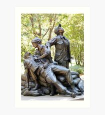 Vietnam Women's Memorial Art Print