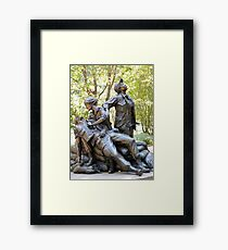 Vietnam Women's Memorial Framed Print