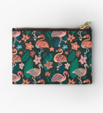 Flamingo Parade Studio Pouch