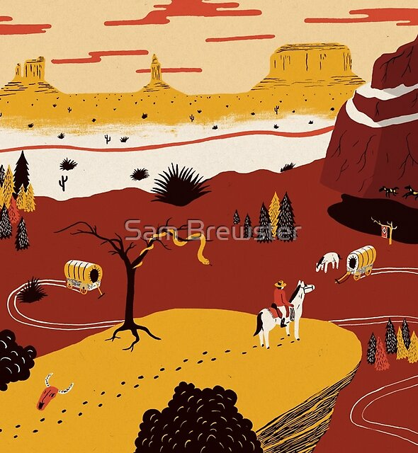 Way Out West by Sam Brewster