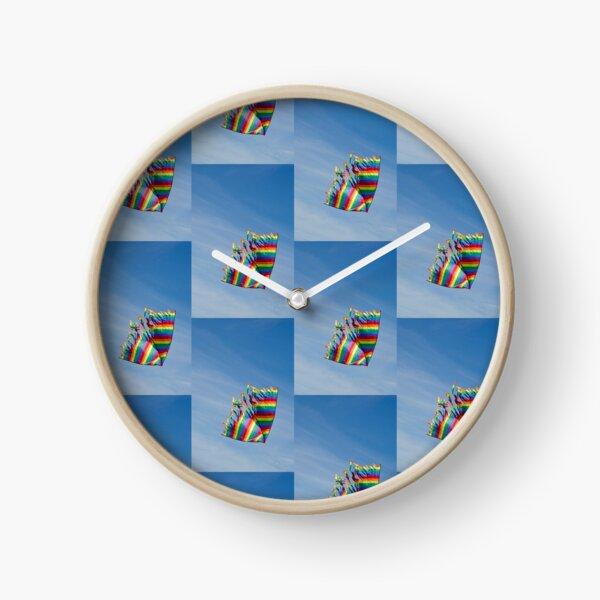 Let's go fly a kite Clock