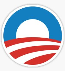 Obama Logo Sticker