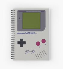 Nintendo Gameboy Spiral Notebook