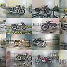 16 Classic British Motorcycles by JohnLowerson
