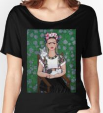 Frida cat lover Women's Relaxed Fit T-Shirt