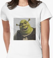 Shrek Movie Script Women's Fitted T-Shirt