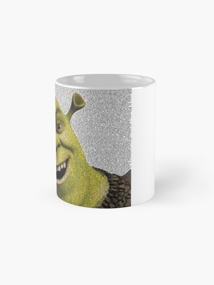 Alternate view of Shrek Movie Script Mug