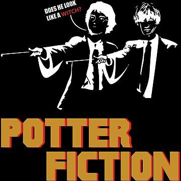 Potter Fiction - Parody by martianart