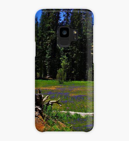 Summit Meadow at Yosemite Case/Skin for Samsung Galaxy