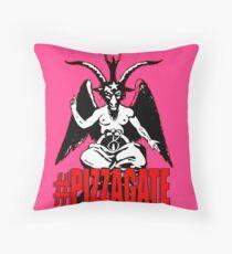 #PIZZAGATE Throw Pillow