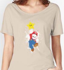 Super Mario Splattery T-Shirt Women's Relaxed Fit T-Shirt
