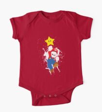 Super Mario Splattery T-Shirt One Piece - Short Sleeve