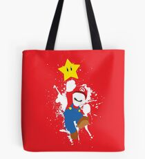Super Mario Splattery T-Shirt Tote Bag