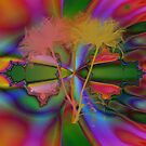 SPRING FRACTAL ART by Spiritinme