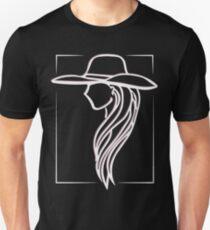 Joanne - Lady Gaga Pink Hat illustration Unisex T-Shirt