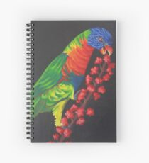 Rainbow Lorikeet #2 Spiral Notebook
