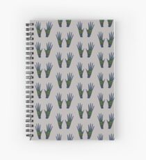 Heart In Hand Spiral Notebook