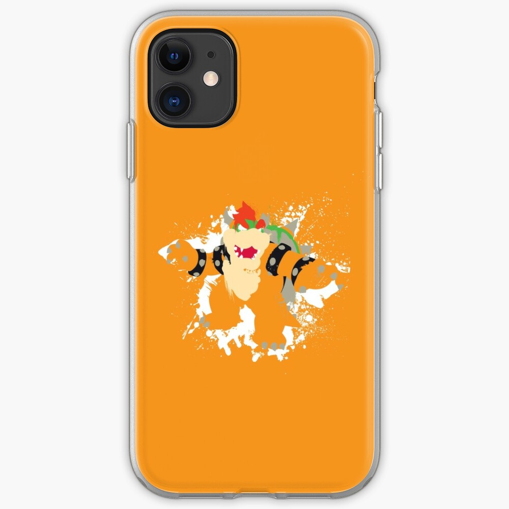 Bowser splattery vector T iPhone Case & Cover