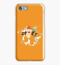 Bowser splattery vector T iPhone Case/Skin