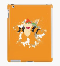Bowser splattery vector T iPad Case/Skin