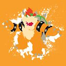 Bowser splattery vector T by thedailyrobot