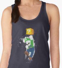 Luigi Paint Splatter Shirt Women's Tank Top