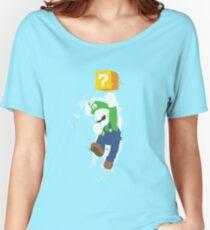 Luigi Paint Splatter Shirt Women's Relaxed Fit T-Shirt