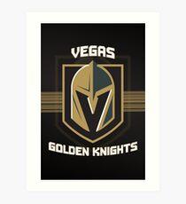 Vegas Golden Knights Art Print