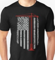 Kranführer Unisex T-Shirt