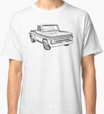1965 Chevrolet Pickup Truck Illustration Classic T-Shirt
