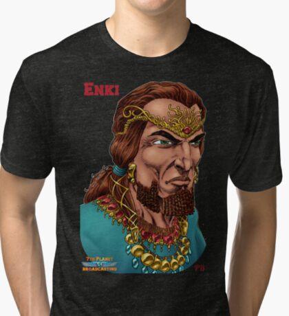 Enki  Tri-blend T-Shirt