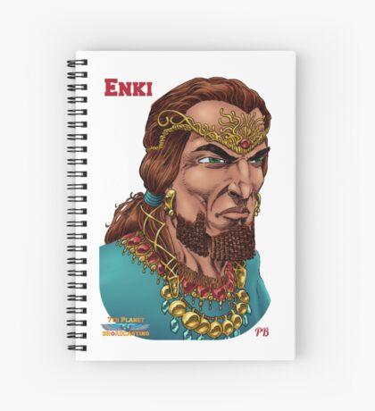 Enki  Spiral Notebook