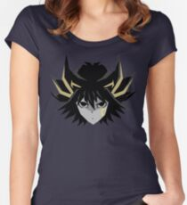 Signer Fudo - Yu-Gi-OH 5DS T-Shirt Women's Fitted Scoop T-Shirt