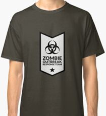 Zombie Response Team (Biohazard / Banner / White) Classic T-Shirt