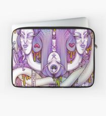 Two Faced  Laptop Sleeve
