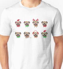 MERRY PUGMAS Unisex T-Shirt