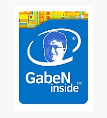 Lord GabeN Inside Photographic Print