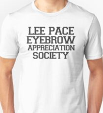 Lee Pace Eyebrow Appreciation Society  T-Shirt