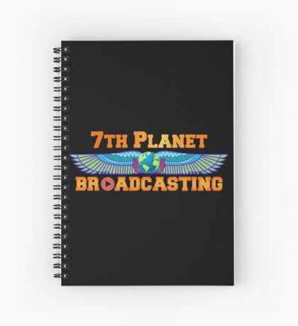 7th Planet Broadcasting Spiral Notebook