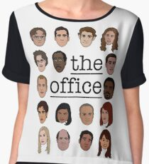 The Office Crew Women's Chiffon Top