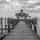 Roanoke Marshes Light by David K. Sutton